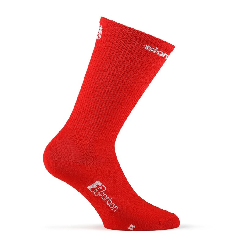Giordana FR-C Sock Tall Solid red- 45-48 Large